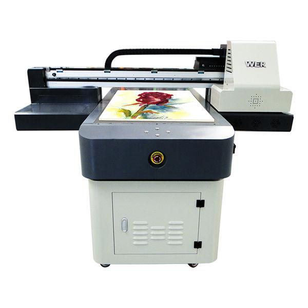Stampante uv digitale per carte professionali in pvc, stampante flatbed uv a3 / a2