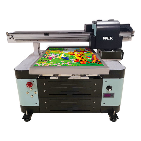 industria a2 flatbed uv digitale flatbed stampante flatbed uv di grande formato