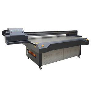 Stampante flatbed a led uv 4 × 8 piedi con testina di stampa konica e ricoh