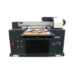 a3 size full automatic 4 colori dx5 printer head mini stampante uv dtg uv flatbe