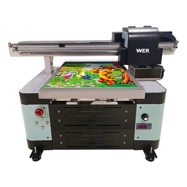 vendite calde nuovo design a2 dimensione digitale flatbed stampante uv