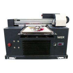 Stampante della maglietta del dtg di prezzi economici di otto colori economici 3d per i vestiti, stampanti flatbed della tessile da vendere