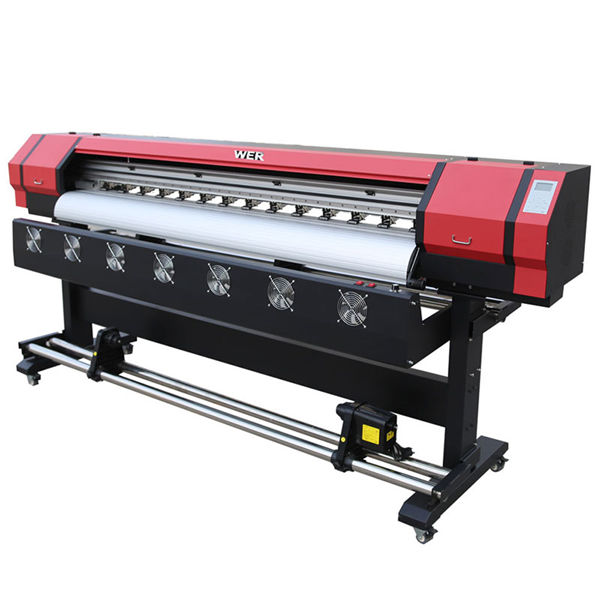 s7000 1.9 m rotolo per rotolare soft film uv led digital inkjet printer