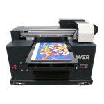 le stampanti flatbed di vetro di bambù acrilico di vetro di legno hanno condotto le macchine di stampa a4