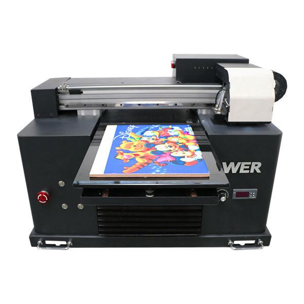 Specifiche Tipo di piastra: Flatbed Tipo di stampante: Inkjet Condizioni della stampante: Nuovo grado automatico: Automatico Tensione: 220 V Dimensioni (L * W * H): 2200 * 2300 * 1330mm Peso: 500 KG Garanzia: 2 anni, 18 mesi Dimensioni stampa: 1000 * 1600 mm Tipo di inchiostro: inchiostro UV Nome prodotto: Stampante flatbed UV Testina di stampa: TOSHIBA CE4 Colore inchiostro: CMYK LC LM W Risoluzione: 360 * 1440 dpi Velocità di stampa: 3-6sq / h Software: GMG Applicazione: Indoor Outdoor Pubblicità Altezza di stampa: 1-100mm (personalizza) Sistema di pulizia: sistema di pulizia automatico