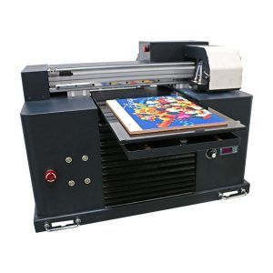 Nuovo design Mini Led Flatbed A3 A4 Dimensione Desktop Epson UV Printer