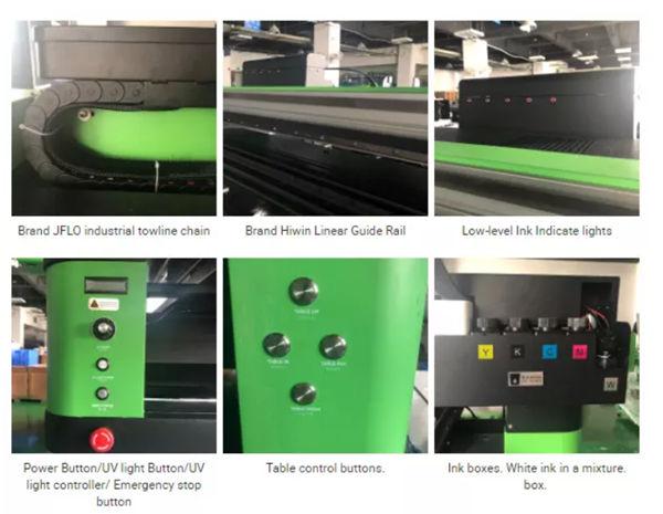 Stampare diversi tipi di prodotti usando l'inchiostro UV