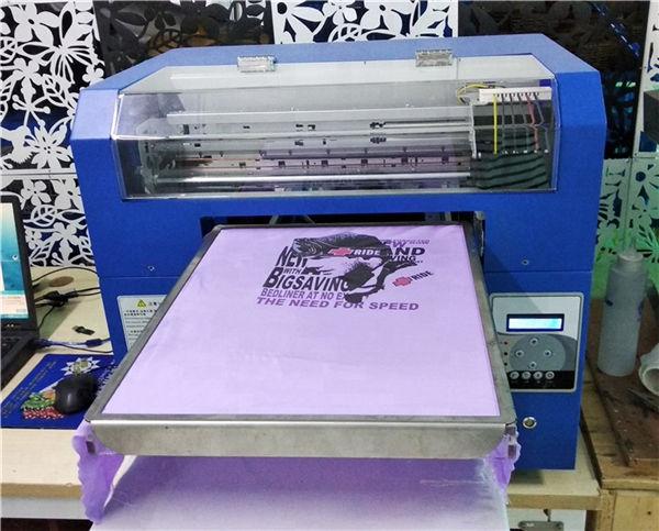 t-shirt digitale flatbed dtg a3 di alta qualità per la stampa di indumenti neri