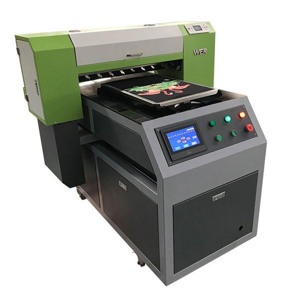 2018 nuovo prodotto 8 colori inkjet a1 6090 stampante flatbed uv