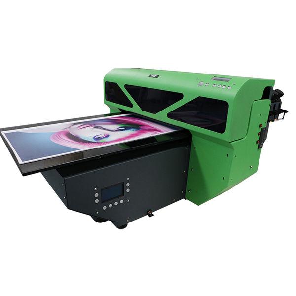 dx7 print flat digital a2 size uv flatbed printer