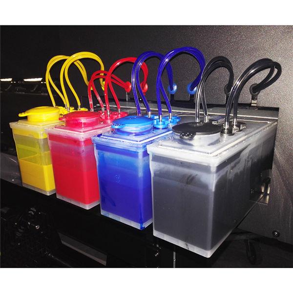 InkFa-1800 4 colori CMYK formato grande eco solvente stampante flex banner prezzo della macchina da stampa